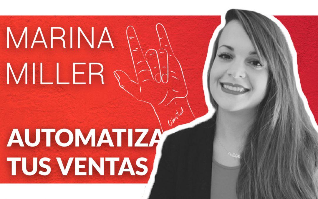Como automatizar tus ventas como Diseñador con Marina Miller