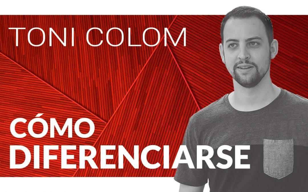 Cómo diferenciarse en el mundo del Diseño con Toni Colom