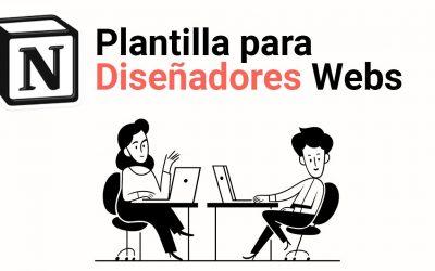 Plantilla de Notion para Diseñadores Web