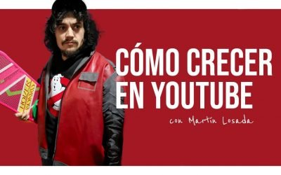 Cómo crecer en YouTube con Martin Losada